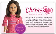 They actually make a Chrissa doll! LOL