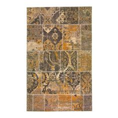 World Menagerie Rosario Hand-Woven Brown Area Rug Rug Size: 8' x 10'