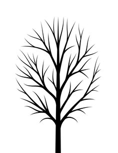 Thankful tree free printable, a thanksgiving craft for family and kids to give thanks. Simply print this free printable thankful tree and write thankful for Winter Art Projects, Winter Crafts For Kids, Tree Templates, Art Template, Cherry Blossom Tree, Blossom Trees, Thankful Tree, Fingerprint Tree, Tree Silhouette
