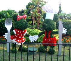 Topiary Sculptures. http://freesamples.us/