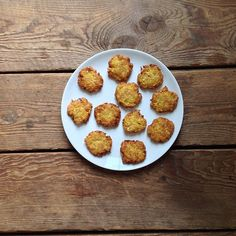 #recipeoftheday | Yellow Squash Fritters adapted from Zucchini Fritters in @williamssonoma Cooking at Home #Padgram