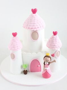 Princess Castle Birthday Cake. You can view more of our custom Birthday Cakes on our website! http://sharonwee.com.au/
