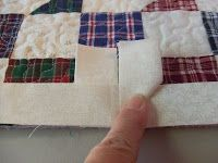Joining the binding - - this is a great tutorial! This really works!