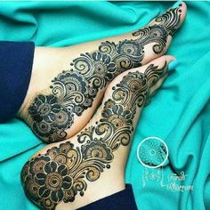 90 Beautiful Leg Mehndi Designs for every occasion || Henna patterns for Feet | Bling Sparkle