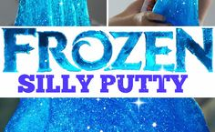How To: 'Frozen' Silly Putty