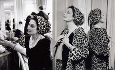The legendary Mitzah, Christian Dior's muse.