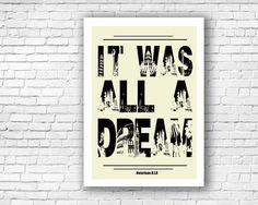 Notorious B.I.G  Rap Lyrics Illustration Print by Craftians