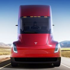 Tesla Semi - The safest, and most comfortable truck ever made. (Transportation, Green Tech, and Tech) Read the opinion of 43 influencers. Discover 9 alternatives like Tesla Powerwall and Tesla Model X New Tesla Truck, Supercars, Tesla Power, Tesla Spacex, Electric Truck, Electric Power, Automobile, Tesla Roadster, Muscle Cars