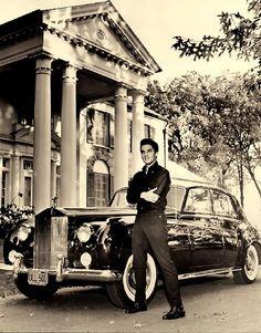 Rolls Royce Silver Cloud owned by Elvis