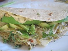 Moore or Less Cooking: Healthy Wrap with Hummus and Avocado
