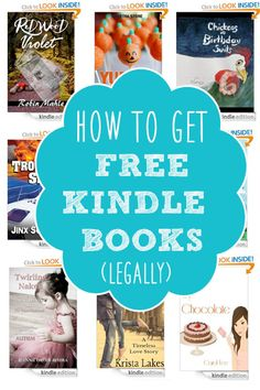 Looking for a way to get some FREE ebooks for your Kindle? Check out this list of 5 ways to get FREE books.I can't believe I didn't know about #3!