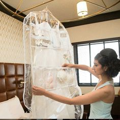 Stay Organized. Get Set Ready Garment Bags and keep your bridal accessories organized @SetReadyGrmntBg