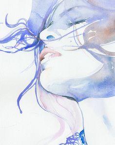 Hohe Druckqualität von Aquarell von silverridgestudio auf Etsy