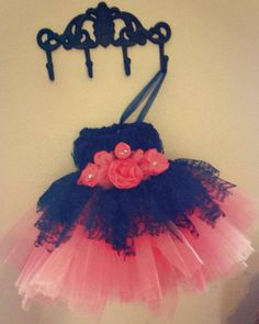 Lace & Tulle Tutu Dress by CuckooTutu on Etsy
