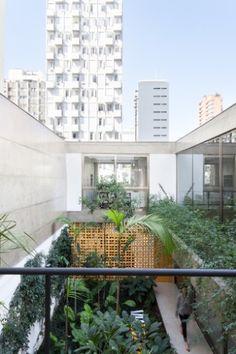 Em meio a prédios, casa garante lugar para jardim em São Paulo - Casa e Decoração - UOL Mulher