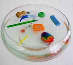 Actividades para Educación Infantil: Experimento: ¿Todo flota?