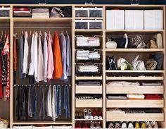 Tenemos nuestro propio punto de vista sobre cómo guardar y organizar la ropa y los zapatos