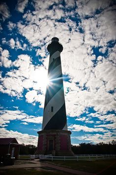 Lighthouse at The Outer Banks, North Carolina
