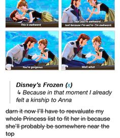 Anna's funny, but I--personally--found her a little bit annoying. I like her, she's just not my favorite.