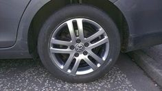VW alloy wheels after a fresh refurbishment from The Wheel Specialist.