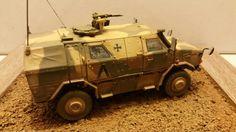 Revell 1/35 ATF Dingo 2 GE A2. Bundeswehr ISAF, Afghanistan 2012
