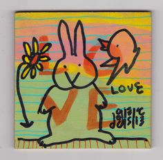 Love Bunny by doodleslice on Etsy