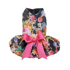 Moya Pet Dog Puppy Cat Floral Ribbon Sundress Wedding Party Dress -- To view further for this item, visit the image link.