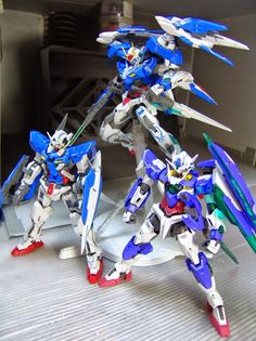 "Custom Build: MG 1/100 00 Raiser ""Detailed"" - Gundam Kits Collection News and Reviews"