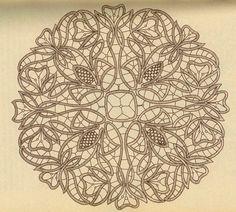 point lace Bobbin Lace Patterns, Crochet Doily Patterns, Macrame Patterns, Crochet Lace, Embroidery Patterns, Crochet Doilies, Bruges Lace, Romanian Lace, Bobbin Lacemaking