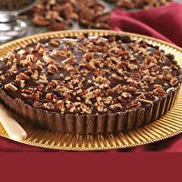 Caramel Turtle Truffle Tart by Mom