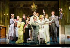 """The ensemble of the new musical """"Somewhere in Time."""" Photo by Patrick Weishampel."""