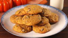 Pumpkin Spice Chocolate Chip Cookies  - Delish.com