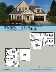 Plan 62664dj one story country charmer with shed dormer for Half timbered house plans