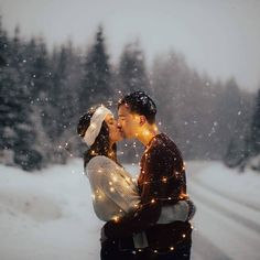 How To Choose A Wedding Photographer. Photo by National Library of Norway Your wedding day will be one of the happiest days of your life and finding the right photographer will be crucial in pr Fairy Light Photography, Winter Photography, Couple Photography, Engagement Photography, Wedding Photography, Winter Engagement Photos, Engagement Shots, Engagement Couple, Engagement Pictures