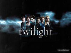 Twilight - Wallpaper with Robert Pattinson, Kristen Stewart, Jackson Rathbone, Kellan Lutz, Ashley Greene & Elizabeth Reaser