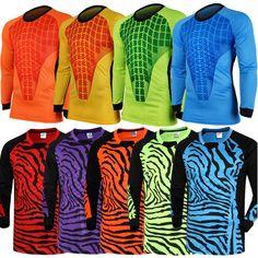 7ff48623f 2017 New Quick Drying men Youth Soccer Training jersey Goalkeeper Jerseys  Tops survetement football Shirts Goal
