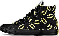 Converse Chuck Taylor Batman Logo Shoes.