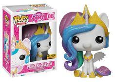 <p>#08- Glitter Princess Celstia (HOT TOPIC)</p>