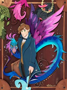 Artist Creates Geeky And Colorful Worlds Out Of Paper 3d Paper Art, Quilled Paper Art, Paper Pop, Paper Artwork, Fantastic Art, Fantastic Beasts, Harry Potter Artwork, Cut Out Art, Paper Illustration