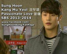 "#sunghoon #SBS #drama "" Passionate Love """