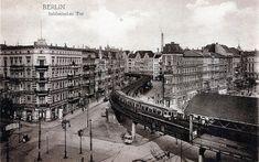 U Bahn Schlesisches Tor, 1900