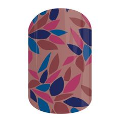 Hint of Marsala -  Spice up your outfit with shades of blue, mauve and just a 'Hint of Marsala' featured in this tint wrap.     #HintOfMarsalaJN Jamberry Nail Wraps 2015 Color of the Year