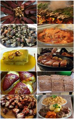 Ten delicious Spanish dishes you must try before you die -  If you thought Spanish food was all paella and pinchos then think again. Get ready to go on a mouth-watering tour of some of the country's lesser known but equally fabulous culinary highlights: calçóts, cochinillo, percebes, callos, piquillos, coques, mojama, cocido, pulpo and pil pil. #TomaTours #ExperienceTheSpainYouNeverKnew