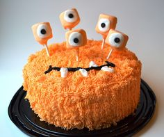 Sweetology: Monster Cake and my LOVE of Church Festival Cake Walks!