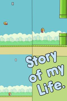 Flappy bird's life story