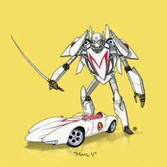Darren Rawlings - They Could Transform Mach V