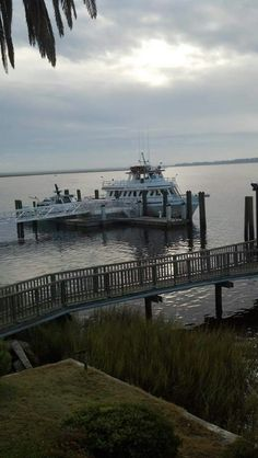 Ferry at Cumberland Island National Seashore