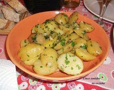 Cinco sentidos na cozinha: Batatas salteadas em manteiga e ervas aromáticas