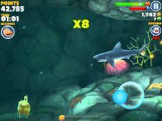 Hungry Shark Evolution gameplay! (+afspeellijst)