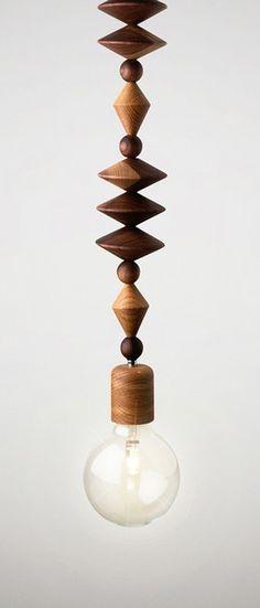 Art Bright Beads Pendant by Coco Reynolds // geometric yet minimal. love. #lightingdesign